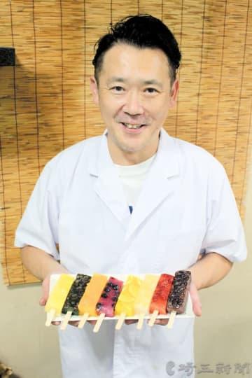 「味だけでなく、食感も楽しんでほしい」と話す前田さん=さいたま市中央区