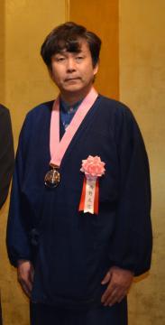 「料理マスターズ」に選ばれた西野正巳さん=都内