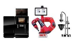 コーヒー抽出ロボットのイメージ図(UCCホールディングス提供)