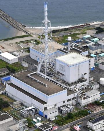 日本原子力発電の東海第2原発=7月、茨城県東海村