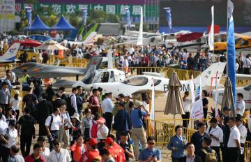 第12回中国国際航空航天博覧会が開幕 広東省珠海市