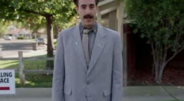 "Borat, Sacha Baron Cohen's Character, Goes Door To Door For Trump: ""I Come To Do Election Tampering!"" [VIDEO]"