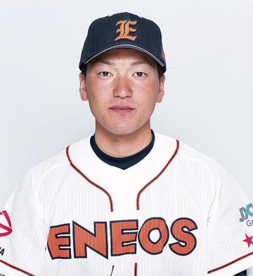 横浜隼人出身の左澤選手※JXTGエネルギー(株)より写真提供