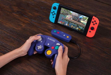 スイッチ向けサードパーティワイヤレスアダプタ「GBros. Wireless Adapter」発表―ゲームキューブ、Wii U、SFCミニコンが利用可能に!