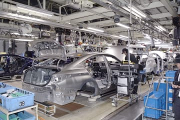 Toyota assembly plant