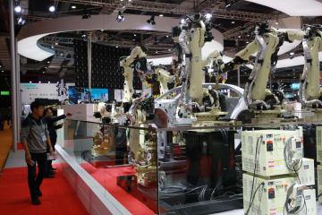 中国国際輸入博 日本企業のスマート製造に注目集まる