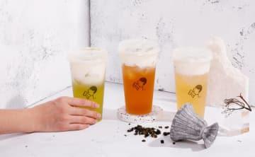 シンガポールでは喜茶の看板メニュー「チーズティー」シリーズなどが販売される(同社提供)