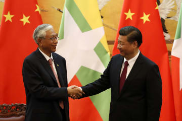 China-Myanmar talks