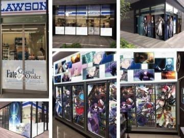 「Fate/Grand Order」とコラボしたローソンJEBL 秋葉原スクエア店(C)TYPE-MOON/FGO PROJECT(C)Lawson,Inc.
