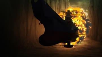 「宇宙戦艦ヤマト2202 愛の戦士たち」のテレビアニメ版の第6話「死闘・第十一番惑星」の一場面(C)西崎義展/宇宙戦艦ヤマト2202製作委員会