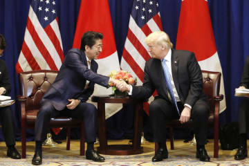 Abe-Trump talks