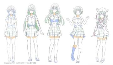 ▲公開されたキャラクターデザイン