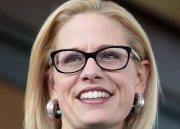 Kyrsten Sinema has slim lead over Martha McSally in Arizona Senate race