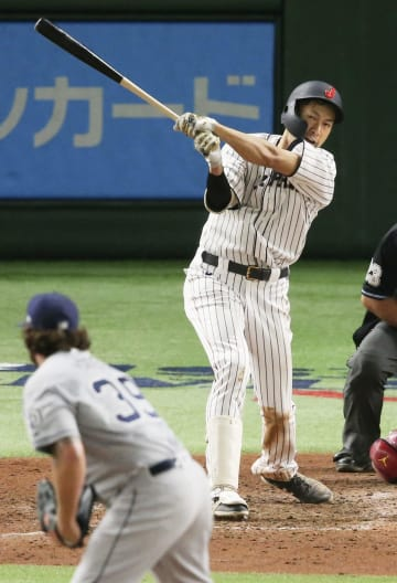 Baseball: Yanagita gives Samurai Japan sayonara win over big leaguers