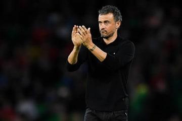 スペイン代表監督のルイス・エンリケ photo/Getty Images