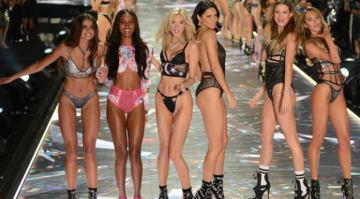 Taylor Hill,Jasmine Tookes,Elsa Hosk,Adriana Lima,Behati Prinsloo,Candice Swanepoel (Credit: Ivan Nikolov/WENN.com)
