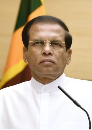 スリランカのシリセナ大統領
