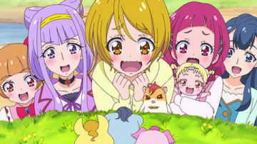 テレビアニメ「HUGっと!プリキュア」の第39話「明日のために…!みんなでトゥモロー!」の一場面 (C)ABC-A・東映アニメーション