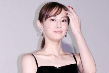 映画「スマホを落としただけなのに」の初日舞台あいさつに登場した北川景子さん