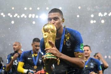 ロシアW杯を制したムバッペ photo/Getty Images
