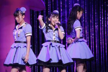 品川ステラボールでライブツアー「Run Girls, Run!1st LIVE TOUR 止まってなんかいられない」の最終公演を開催した「Run Girls,Run!」