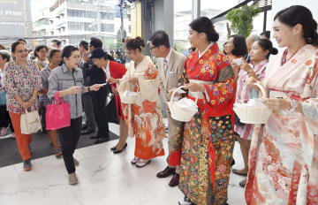 Japan's Takashimaya department store opens in Bangkok
