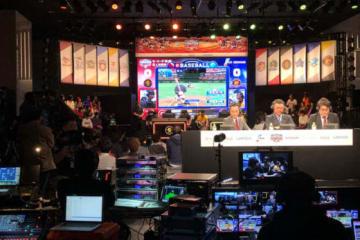 10日、「eBASEBALL パワプロ・プロリーグ」が開催された【写真:大森雄貴】