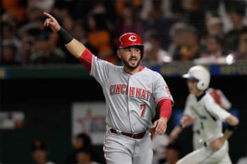 MLBオールスターチームのエイウヘニオ・スアレス【写真:Getty Images】