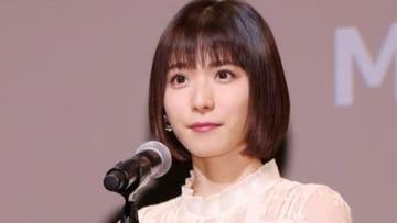 第31回東京国際映画祭のクロージングイベントに登場した松岡茉優さん