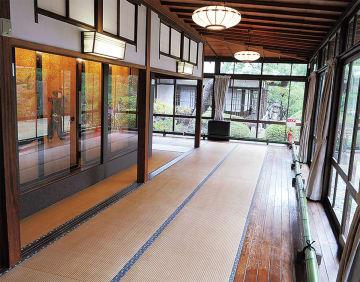 旧大隈重信邸の「富士の間」