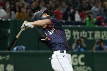 4安打4打点と活躍した侍ジャパン・柳田悠岐【写真:Getty Images】
