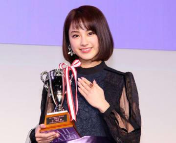 「ネイルクイーン2018」授賞式に登場した平祐奈さん