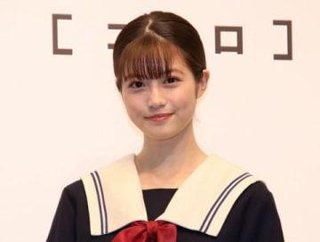 LINEの新作ゲーム「koToro_[コトロ]」の発表会に登場した今田美桜さん