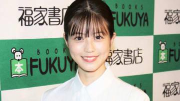 写真集「今田美桜ファースト写真集 生命力」の発売記念イベントを行った今田美桜さん