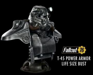 『Fallout』T-45パワーアーマーの実物大胸像が海外ストアにて予約開始─お値段およそ15万円!