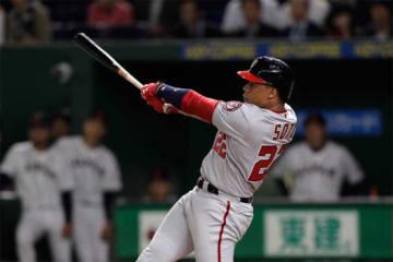 MLBオールスターチームのフアン・ソト【写真:Getty Images】