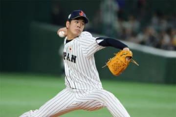 5回途中5失点で降板した侍ジャパン・多和田真三郎【写真:Getty Images】