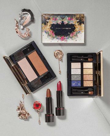 資生堂がシリワンナワリー王女と開発した新ブランド「SHISEIDOxシリワンナワリー—プリンセス・ハナヤカ・コレクション」(同社提供)