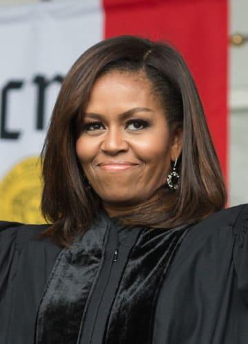 ミシェル・オバマ前米大統領夫人(UPI=共同)