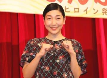 NHK連続テレビ小説「まんぷく」で主演を務める安藤サクラさん