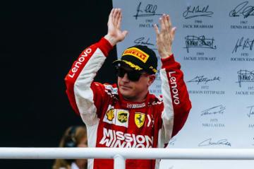 ライコネン「全力を出し切っての3位。いいレースができたと思う」:F1ブラジルGP日曜