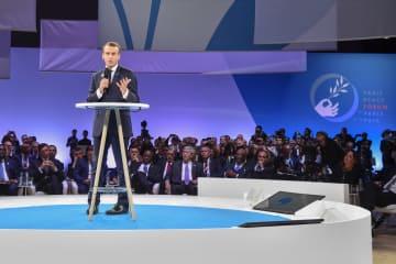 パリ平和フォーラムが開幕