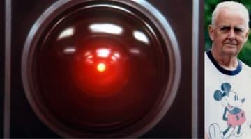 ご冥福をお祈りします - HAL 9000とダグラス・レインさん - MGM / Photofest / ゲッティ イメージズ, Jeff Goode / Getty Images