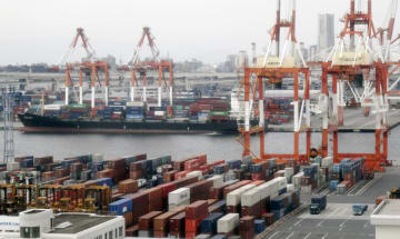 統計:Container terminal in Yokohama