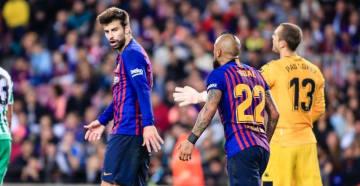 衝撃敗戦のバルセロナ、選手同士が口論に?