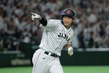 「2018日米野球」で活躍を見せている柳田悠岐【写真:Getty Images】