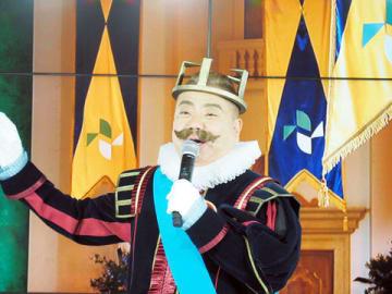 「ニチガス」の新CM発表会に登場した出川哲朗さん