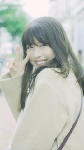 有村架純さんが出演するシチズン時計「wicca」の動画「#見つめてたい」のワンシーン