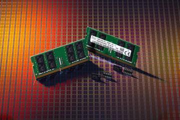 SKハイニックスが開発した次世代DRAM(同社提供)