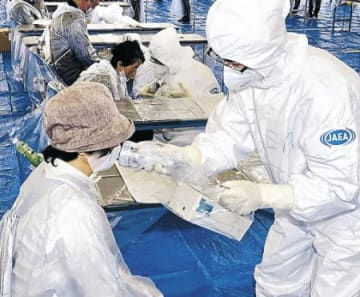 富山県の57機関訓練 志賀原発事故想定で訓練